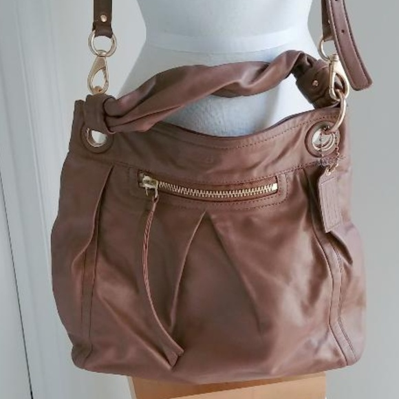 ff67ad52aa83 Coach Handbags - COACH Parker Convertible Hippie Hobo Bag 13411